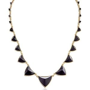 🆕House of Harlow 1960 Gold Plate Pyramid Necklace
